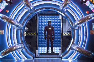"""The Flash -- """"Trajectory"""" -- Image FLA216a_0117b -- Pictured: Grant Gustin as Barry Allen / The Flash -- Photo: Katie Yu/The CW -- © 2016 The CW Network, LLC. All rights reserved."""