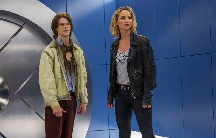 Jennifer Lawrence Lucas Till X-Men