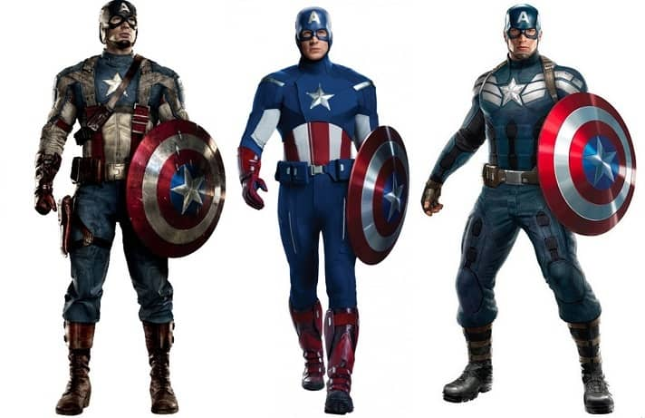 Chris Evans Reveals Which Of The 'Captain America' Suits Is His Favorite - Heroic Hollywood