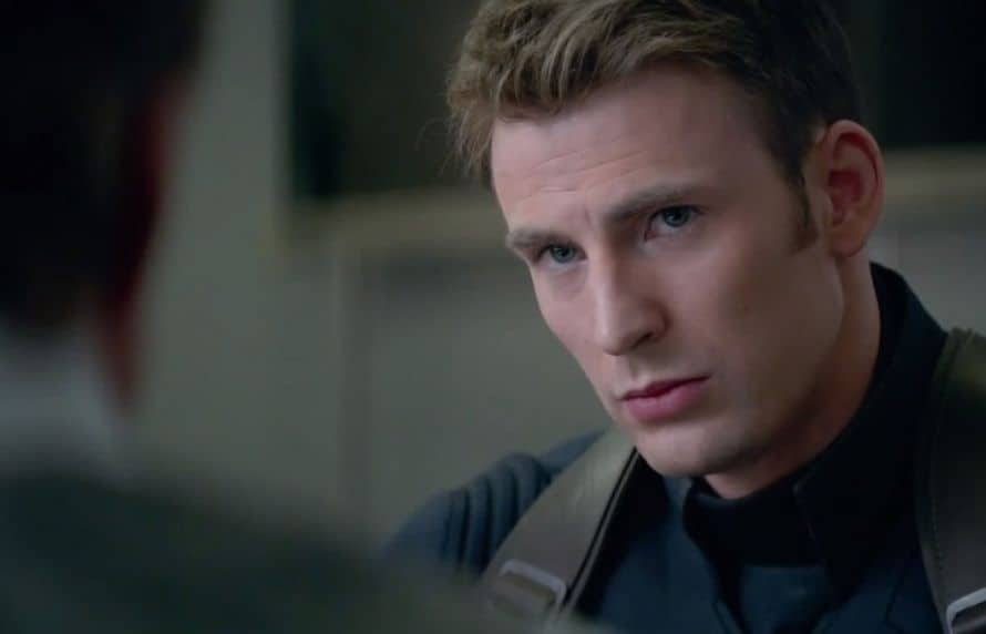 Chris Evans Captain America Civil War Spider-Man