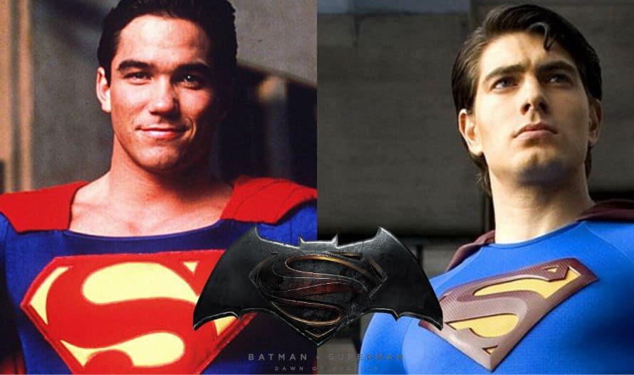 Dean Cain Brandon Routh Batman v Superman