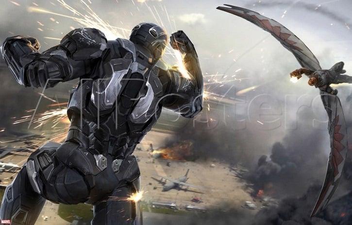 Falcon v War Machine Concept