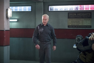 "Arrow -- ""Eleven-Fifty-Nine"" -- Image AR418a_0027b.jpg -- Pictured: Neal McDonough as Damien Darhk -- Photo: Diyah Pera/The CW -- © 2016 The CW Network, LLC. All Rights Reserved."