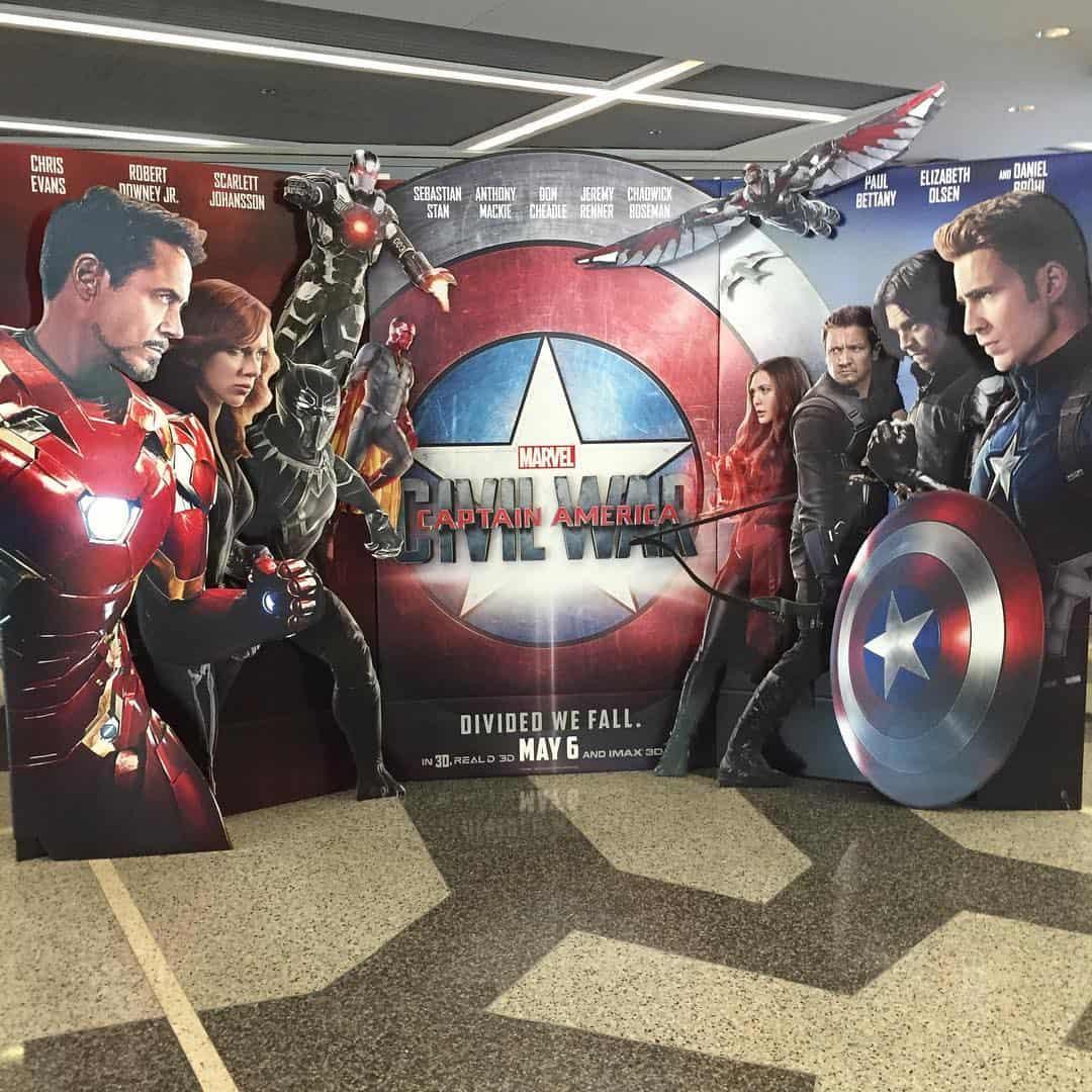 Captain America CW Standee