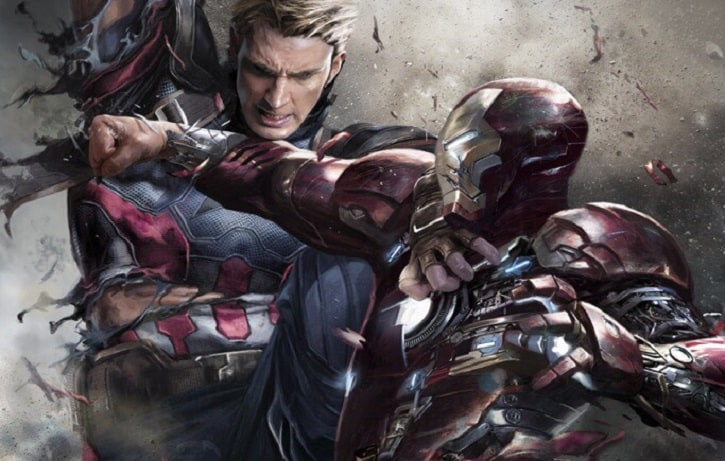 Captain America vs Iron Man Concept Header