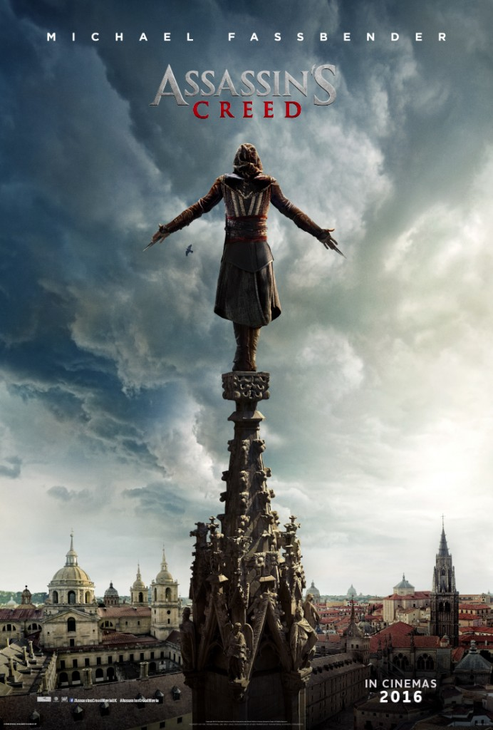 Assassin's Creed Movie Michael Fassbender Poster