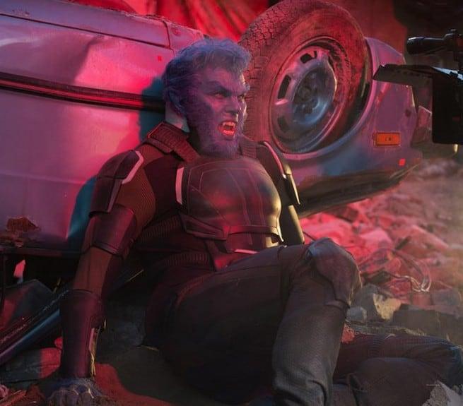 Nicholas Hoult asHank McCoy/Beast