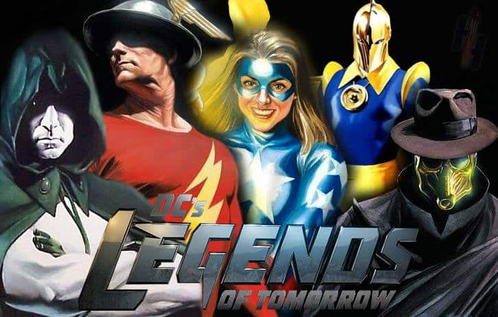 Justice Society Legends Of Tomorrow S2