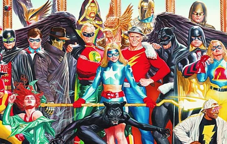 Justice Society Legends of Tomorrow