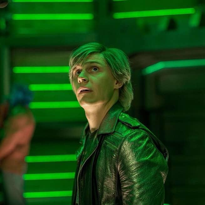 Evan Peters as Quicksilver X-Men
