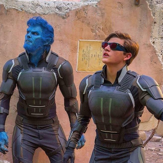 Nicholas Hoult asHank McCoy/Beast and Tye Sheridan asScott Summers / Cyclops X-Men