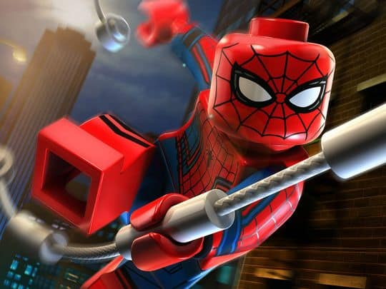 lego spidey civil war