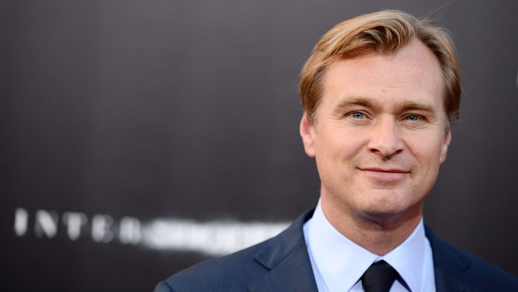 """Director/co-writer/producer Christopher Nolan arrives at the premiere of """"Interstellar"""" at the TCL Chinese Theater on Sunday, Oct. 26, 2014, in Los Angeles. (Photo by Jordan Strauss/Invision/AP)"""