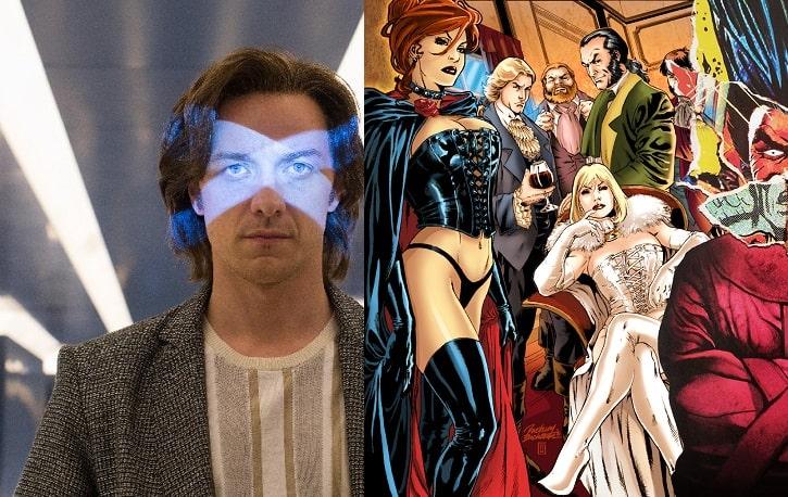 X-Men TV Film Counterparts