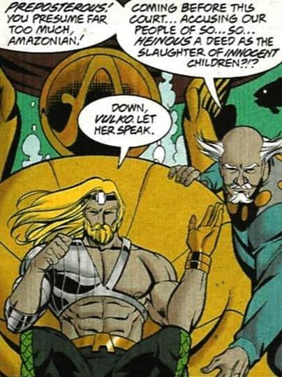 Aquaman Vulko DC Comics