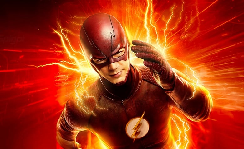 Grant Gustin The Flash banner