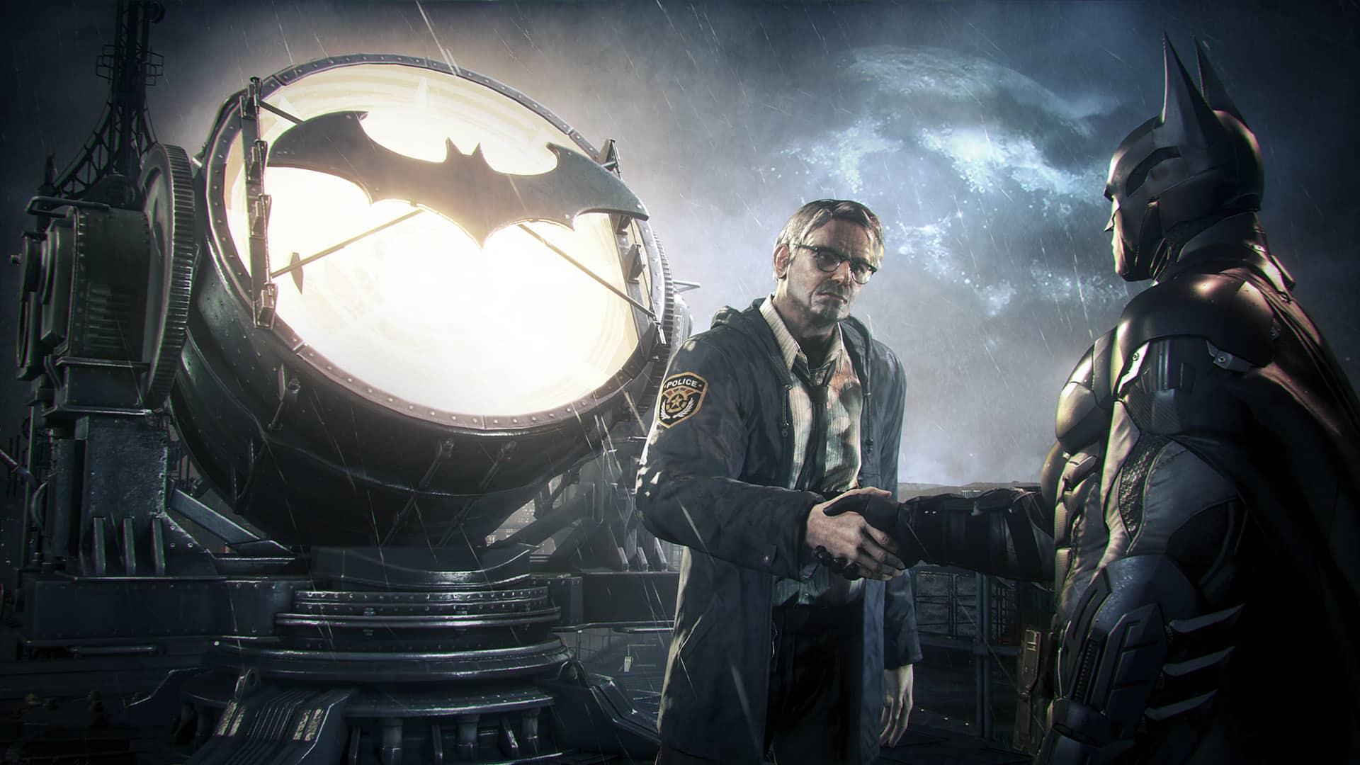 Batman Arkham Commissioner Gordon