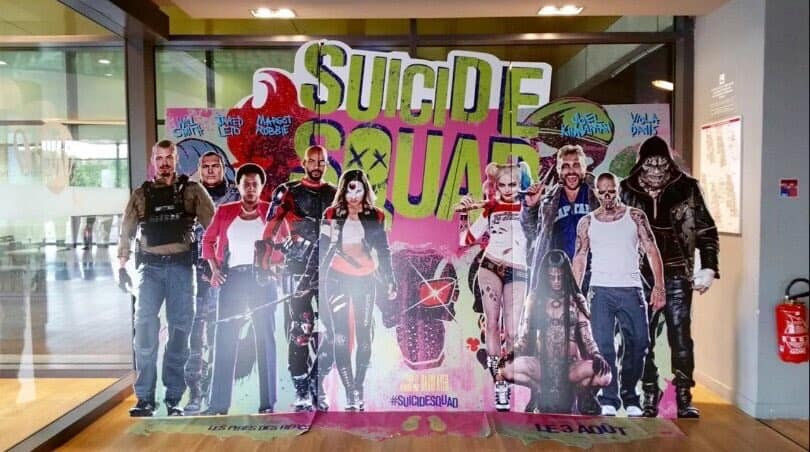 Suicide Squad Standee