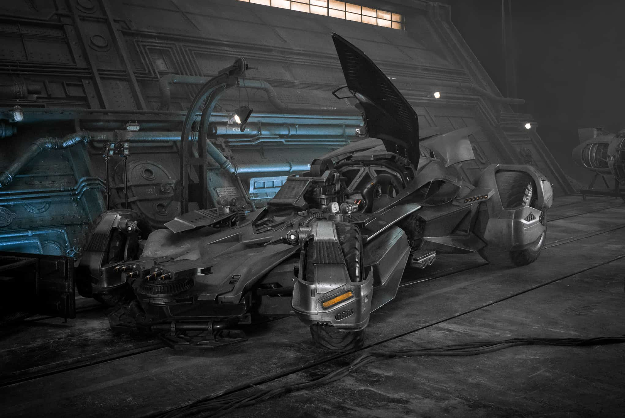 Justice League Batman Batmobile