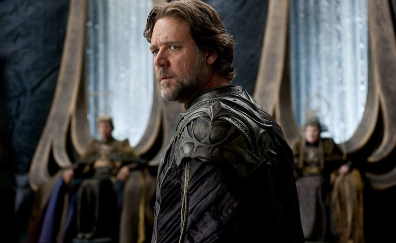 Russell Crowe Superman Movies banner