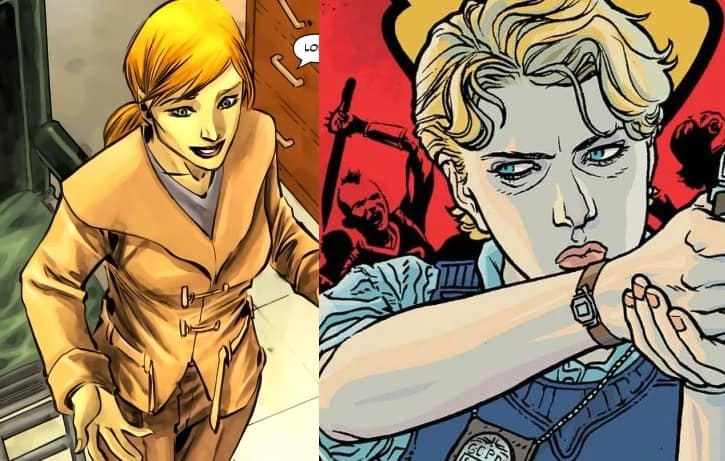 Supergirl Lena Luthor Maggie Sawyer