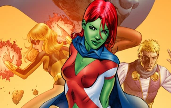 Supergirl Miss Martain