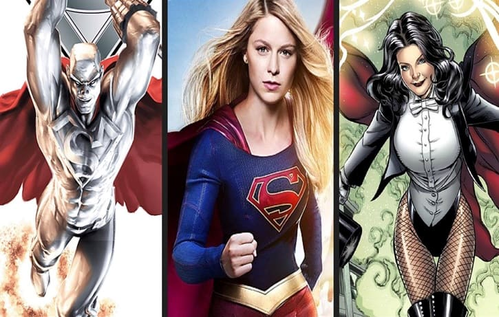 Supergirl Season 2 Characters