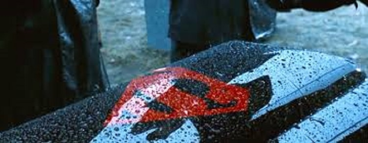 Superman Casket