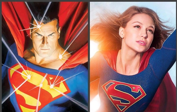Superman Supergirl TV
