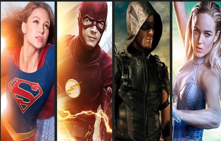 The CW The Flash Supergirl Legends Arrow