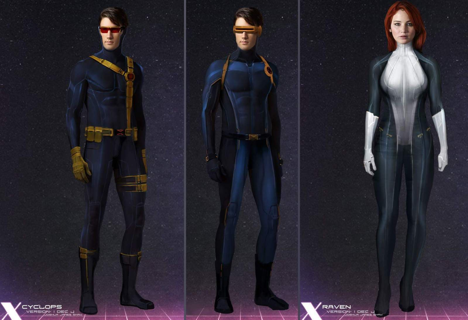X-Men Apocalypse Concept Art Cyclops and Mystique