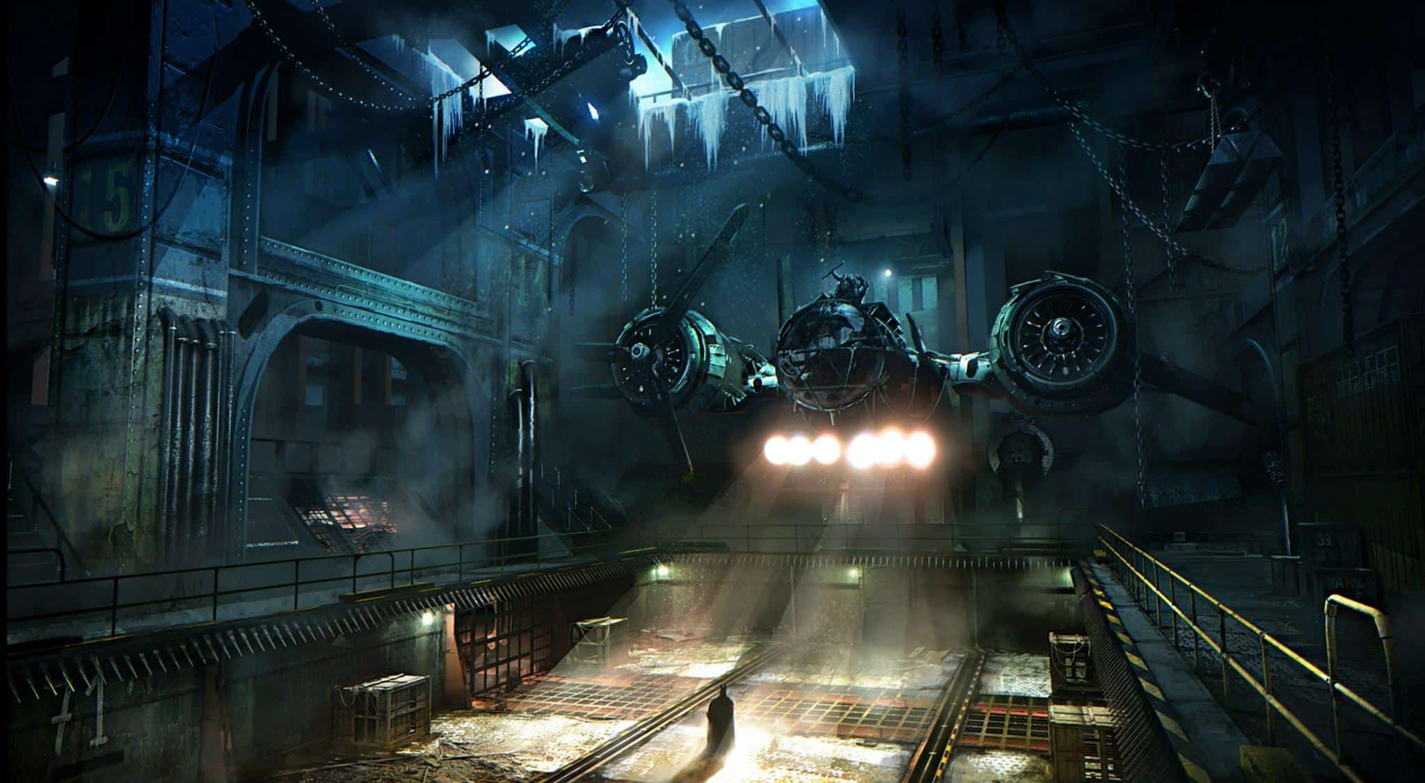 Batman Hangar