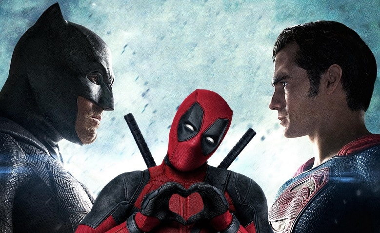 Batman v Superman: Dawn of Justice & Deadpool banner