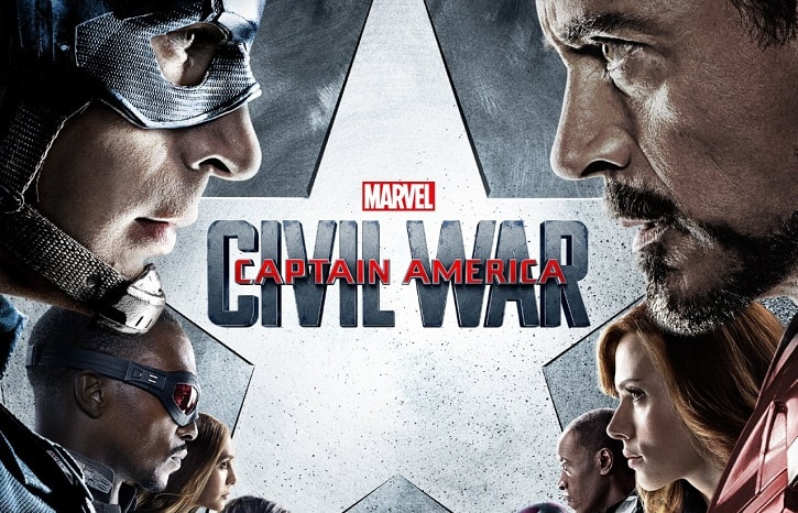 Civil War Blu Ray UK
