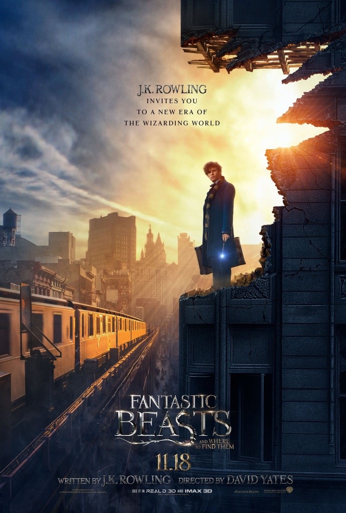New Fantastic Beasts poster