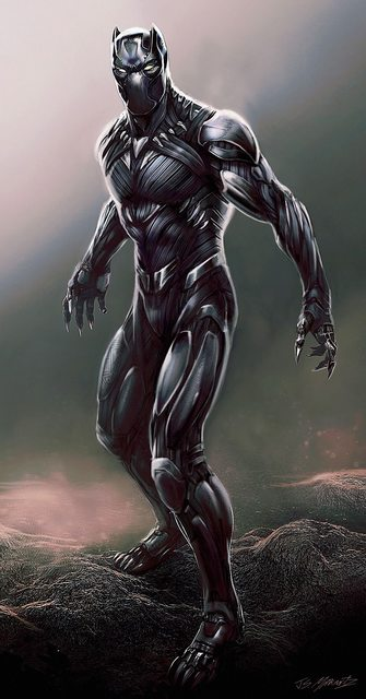 Black Panther Concept 3