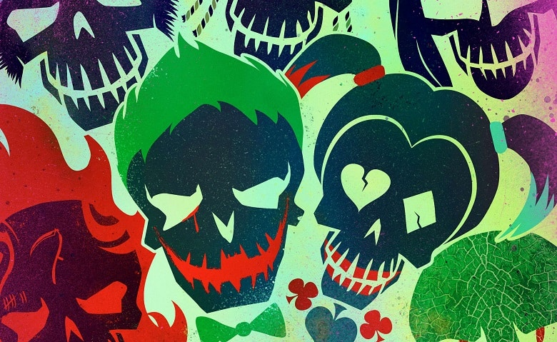 Suicide Squad Sucker for Pain banner