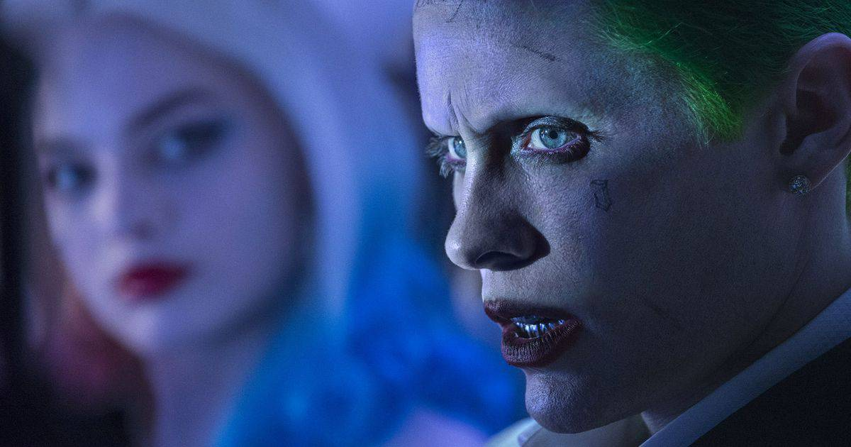 Suicide Squad The Joker and Harley Quinn banner