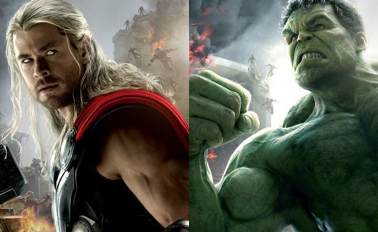 Thor Ragnarok Hulk banner