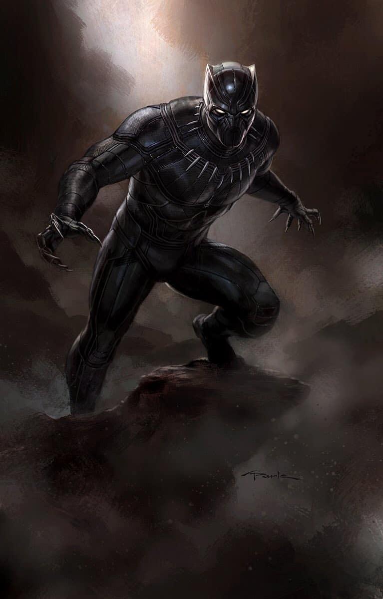 More 'Captain America: Civil War' Black Panther Concept Art