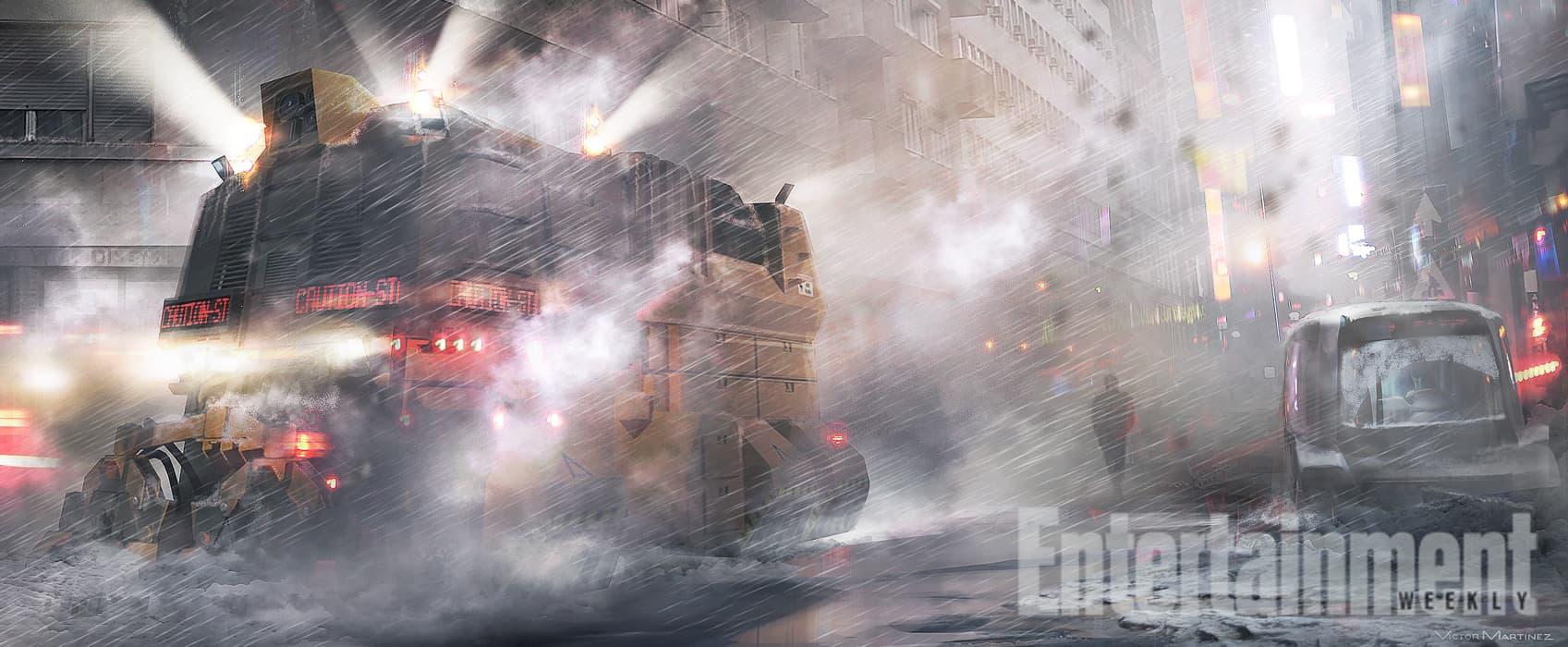 Blade Runner Sequel (2017) Concept Art