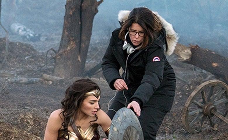 Patty Jenkins Wonder Woman banner