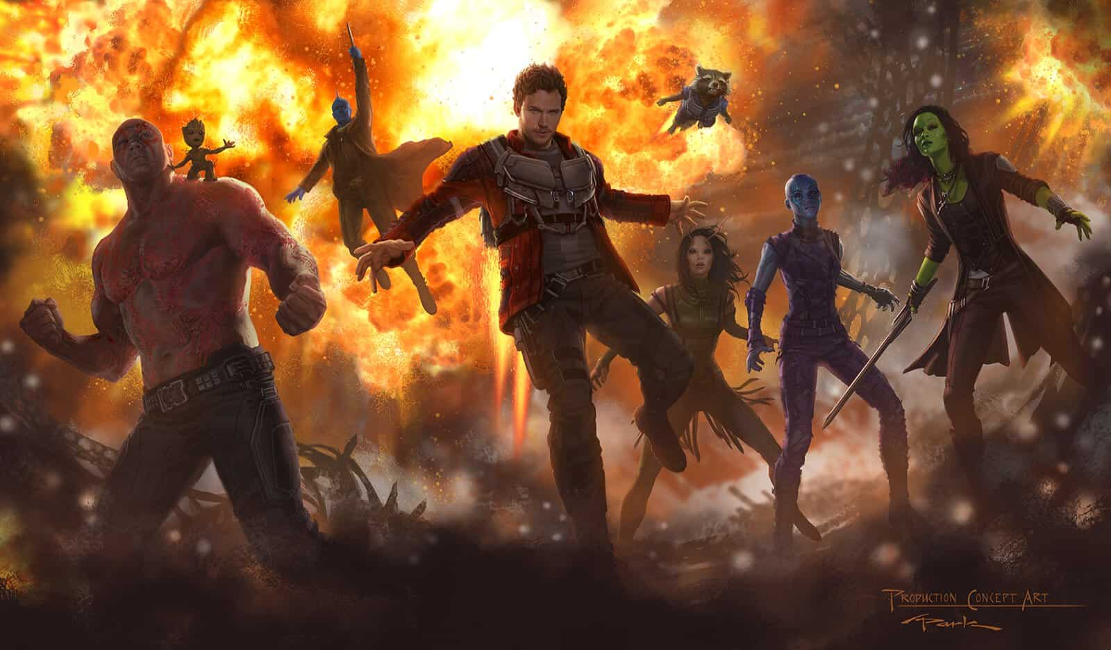 Guardians Of The Galaxy V2 Concept