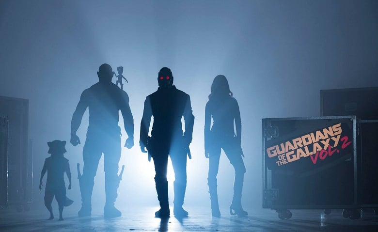 Guardians of the Galaxy Vol. 2 banner