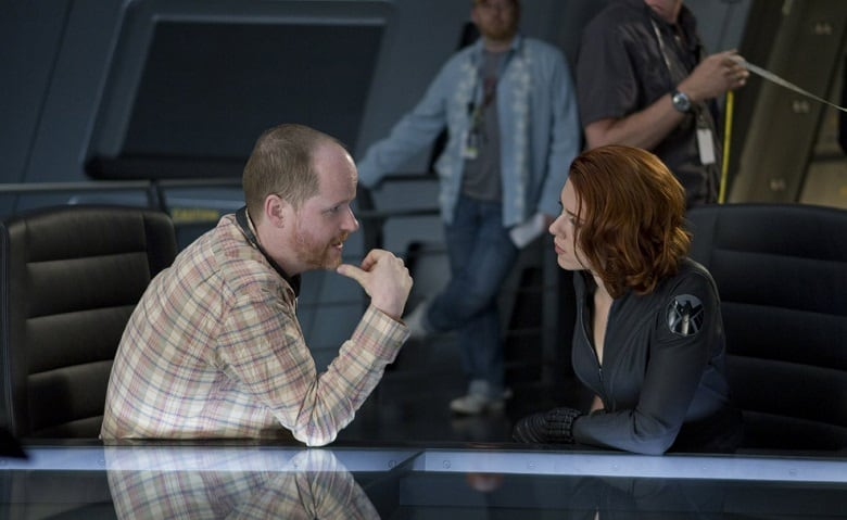 Joss Whedon Black Widow banner
