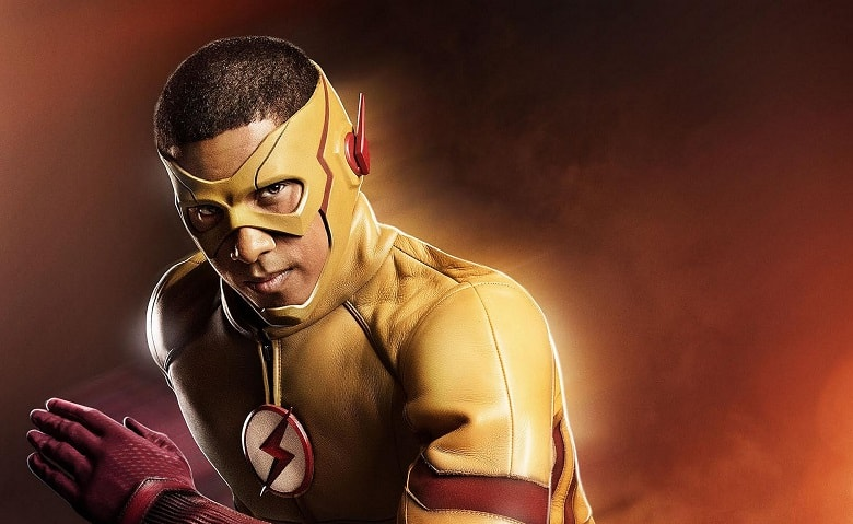 The Flash Kid Flash banner
