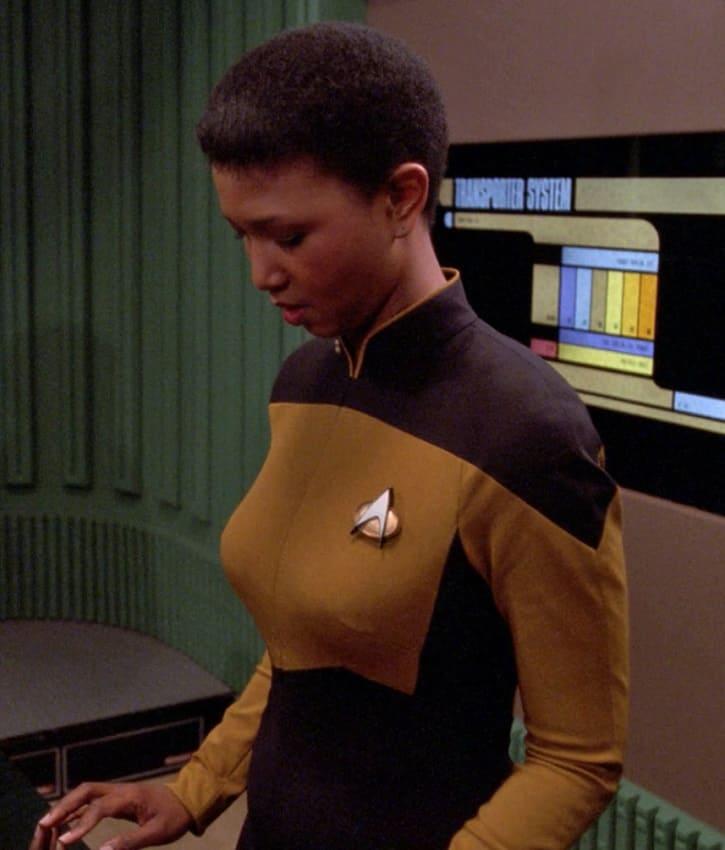 Mae Jemison in Star Trek
