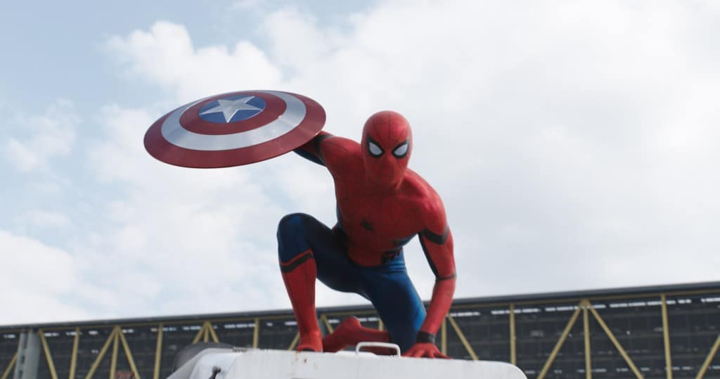 Captain America: Civil War Spider-Man banner