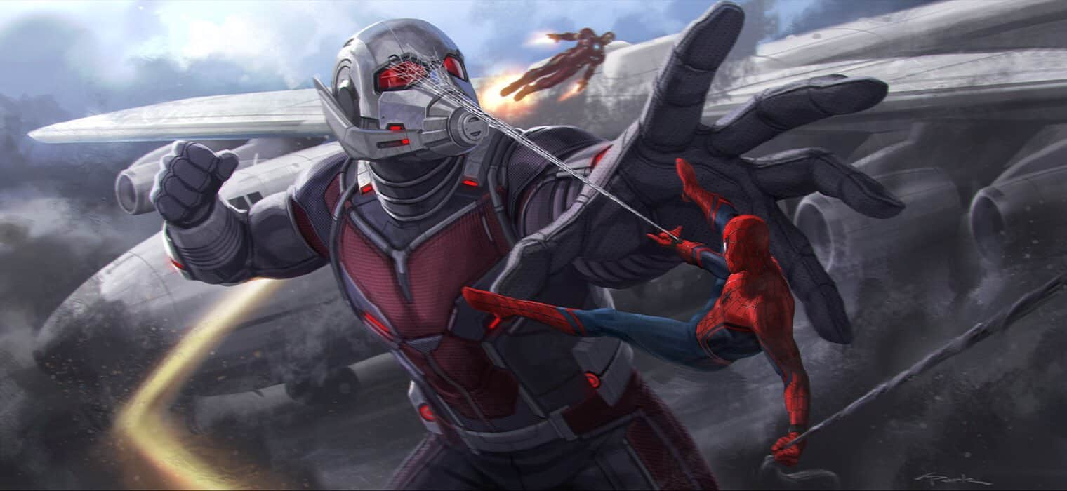Spider-Man vs Giant-Man