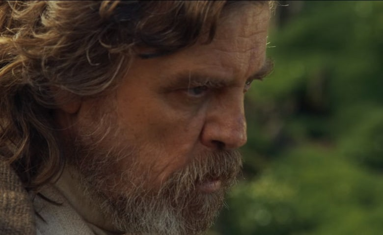 Star Wars Episode VIII Mark Hamill banner